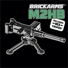 BRICKARMS M2HB Heavy Machine Gun for Lego Minifigures NEW Soldier Military