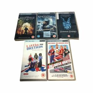 UMD Video For PSP TV Movie Films Sony PlayStation Portable PSP Rating 15+ BDLX5
