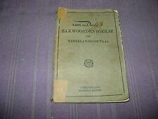 ZAKWOORDENBOEK DER NEDERLANDSCHE TAAL  VAN DALE'S 1936