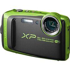 Fujifilm FinePix XP120 16.4 Megapixel Camera wifi water-shock proof- Lime Green