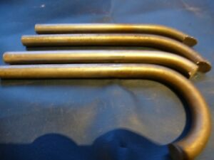 stainless steel bar off cuts  1/2  dia x 5.5 inches  long in v-good con. X 4