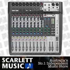Soundcraft Signature 12 Mulitrack Recording Mixing Desk w/ USB + FX