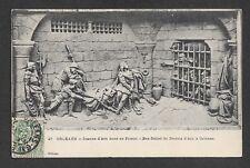 Vintage Postcard - Orleans, Jeanne d'Arc dans sa Prison, Bas-Relief - Posted