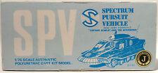 CAPTAIN SCARLET : SPECTRUM PURSUIT VEHICLE 1/76 SCALE MODEL KIT BY WAVE (MN)