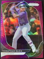 2020 PANINI PRIZM BASEBALL RC Rookie Yonathan Daza Colorado Rockies #13