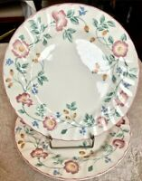 "Churchill Fine English China Briar Rose 9 3/4"" Dinner Plate SET OF 6 NEW, UNUSED"