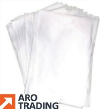 More details for clear polythene clear plastic bags food use freezer bags craft bags