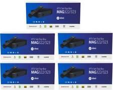 5x MAG 322 IPTV Player Multimedia Streamer Set-Top-Box HEVC Infomir Original