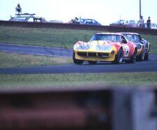 """1972 Chevy Corvettes IMSA Series Racing Mid-Ohio Race Course 8""""x 10"""" Photo 12"""