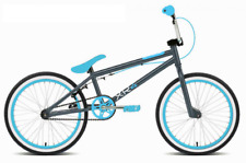 "Rooster XR5 Freestyler Kids 20"" Wheel BMX Bike Bicycle With Gyro Grey Blue RS153"