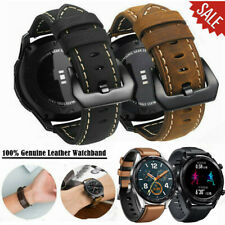 For Samsung Galaxy Watch 46mm Gear S3 Frontier Leather Silicone Band Strap 22mm