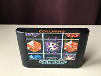 Columns Sega Genesis Loose Cartridge Tested 1990