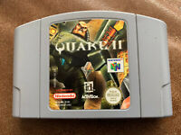 Quake II 2 Nintendo 64 N64 Loose Cartridge Cart Only PAL