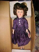 "GORGEOUS!! Vintage 19"" Lu Ann, TEEN AGE DOLL Walker Doll In Box"