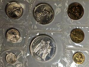 1968 France Silver 8 Coin Set UNC 172848p