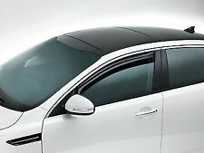 Genuine Kia Optima 2011+ Side Window Wind Deflectors