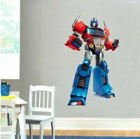 Optimus Prime Transformer Wall Sticker Nursery Decor Boys Room Decal Art Gift