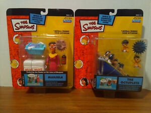 WOS- Simpsons- Playmates- Manjula & The Octuplets Figures-Set of 2-NEW