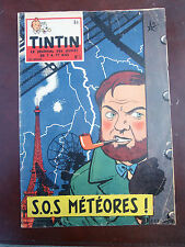 Journal Tintin belge années N° 3 du 15/01/1958 - SUPERBE COUV. JACOBS  TBE!!!