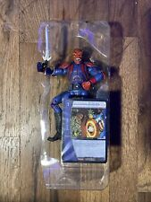 Marvel Legends Toy Biz Face Off Captain America Red Skull (New Out Of Box)