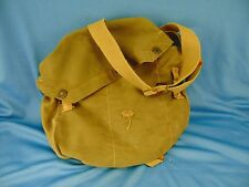 Us Military Army green Od canvas shoulder bag snap closure fishing supplies Usmc
