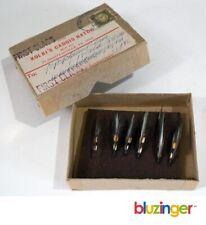 New listing Vintage Kolbi'S Caddis Hatch (6) Hand Tied Streamer Flies Old Stock