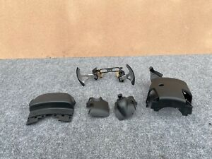 INFINITI FX35 FX50 QX70 2009-2017 STEERING WHEEL PADDLE SHIFTERS WITH COVERS OEM