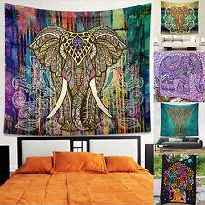 LC_ Mandala Indien TAPISSERIE TENTURE bohème Jeté de lit décor de Dortoir N