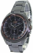 Citizen WDR Eco-Drive Chronograph Tachymeter AT2187-51E Men's Watch