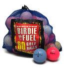 60 Ball Near Mint Used Golf Balls AAAA Pink Yellow Orange Clear or Mix Ship Free