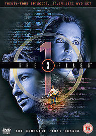 The X-Files - Series 1 - Complete (DVD, 2004, M-Lock Packaging)