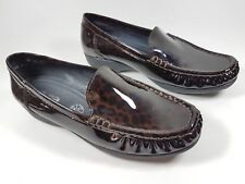 Luftpolster Ara dark brown patent leather mocassin shoes uk 5 eu 38 New
