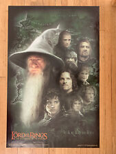 Lord Of The Rings The Fellowship Of The Ring Poster