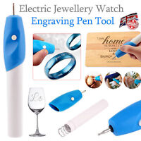 Engraving Etching Hobby Craft Pen Handheld Rotary Tool for Jeweler Glass Metal