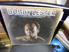 Bobby Lester Self Titled S/T LP Columbia [2 EYE] Records VG+ IN Shrink