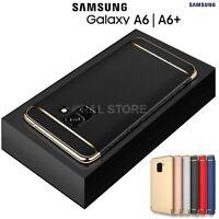 Coque pour Samsung Galaxy A6/A6 Plus 2018 Étui Protection 360° Rigide Slim