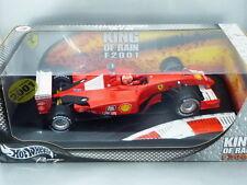 "1/18 Hot Wheels FERRARI F2001 ""KING OF RAIN"" #1 M.SCHUMACHER 2001"