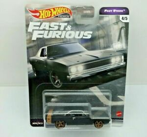Hot Wheels Fast And Furious Fast Stars Dodge Charger Black SEALED UNOPENED HTF
