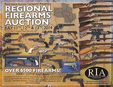 RIA Rock Island Auction Company 11 12 13 July 2014 Catalog Firearms Gun