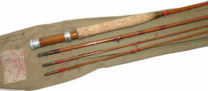 """Farlow Farlight Special 9' 6"""" Split Cane Fly Rod with wood reel seat"""