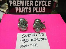 SUZUKI INTRUDER VS 750 1988-1991 MIKUNI  CARBS CARBURETORS READY TO RUN