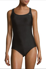c1fe22f5f1c Womens Small (s) 1 Piece Black Nike Epic Racerback Spliced Swimsuit