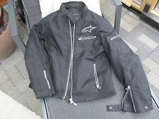 Damen-Motorrad-Jacke *alpinestars*, Gr. L, Schwarz