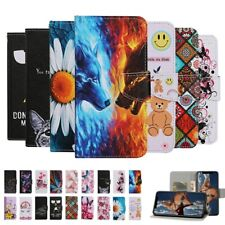 Cat Butterfly Pattern For Samsung S20 S10e A51 Magnetic Stand Wallet Case Cover