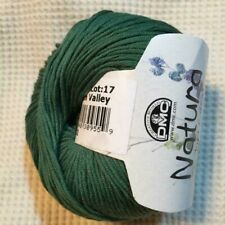 One Dmc Natura Just Cotton Crochet Knitting Yarn / 170 yds / Green Size 3 N14