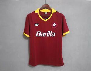 Maglia vintage Roma 89-90 retro soccer jersey camiseta