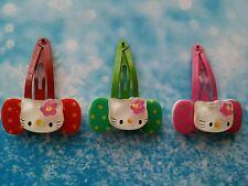 3 Pcs Mignon Hello Kitty clips