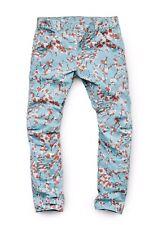 G-Star W34 L32 RAW Elwood X25 Sakura Pattern 3D Tapered Jeans