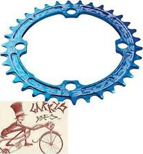 RACEFACE NARROW-WIDE SINGLE 36T X 104MM BLUE ALLOY BICYCLE CHAINRING