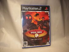 Playstation 2 CT Special Forces Fire For Effect  PS2